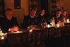 Jahreshauptversammlung bei Kerzenschein