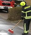 Ölspur sorgte für Einsatz der Feuerwehr